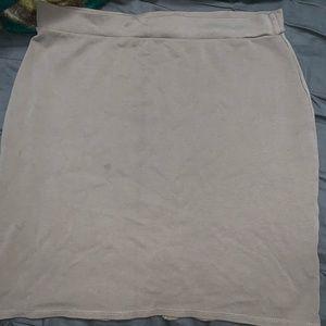 Light brown skirt  pencil skirt